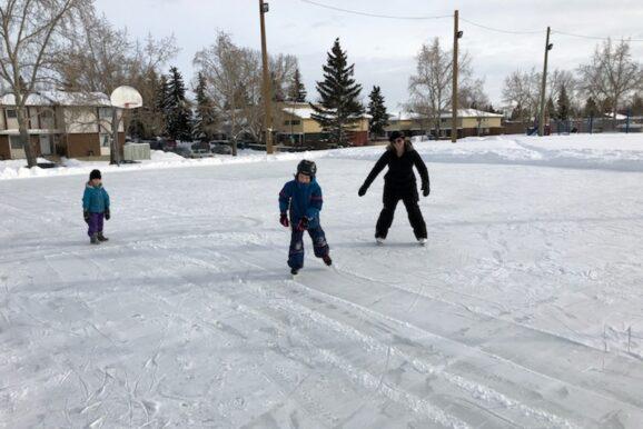 Pineridge Community Association Community Ice Rink