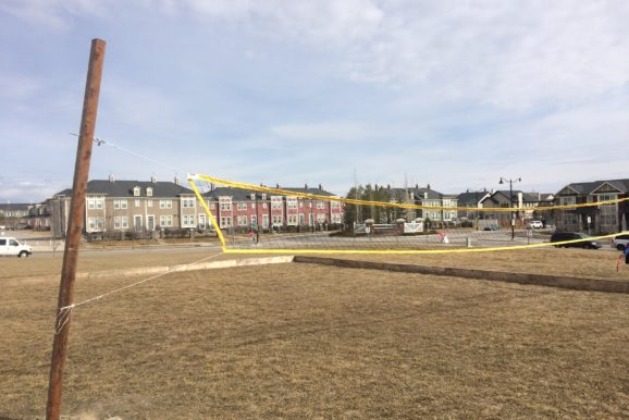 Silverado Community Association Outdoor Volleyball Net