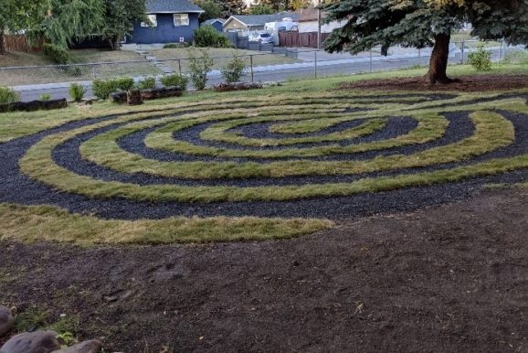 Alex Munro Labyrinth and Pathway Project